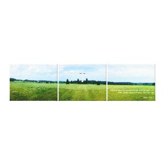 Yo Soy el Camino 1 - Foto en 3 Piezas Canvas Print