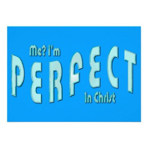 ¿Yo? Soy perfecto… en Cristo - 10:14 de los hebreo Invitación