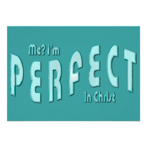 ¿Yo? Soy perfecto… en Cristo - 10:14 de los hebreo Anuncio Personalizado