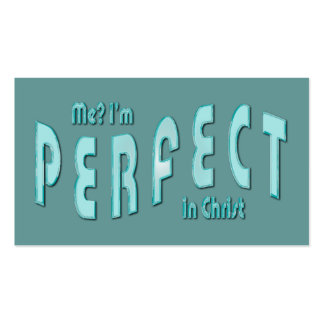 ¿Yo? Soy perfecto… en tarjetas de la zona del 10:1 Tarjetas Personales