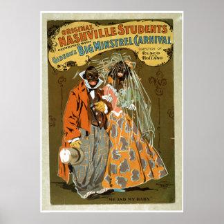 """""""Yo y mi bebé - anuncio grande de Carnivale del tr Poster"""