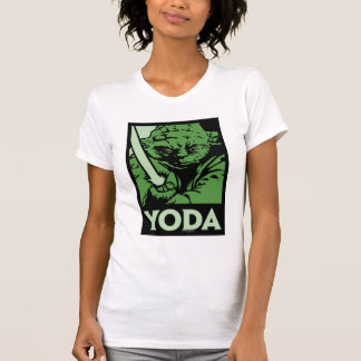 Yoda Lightsaber Camiseta