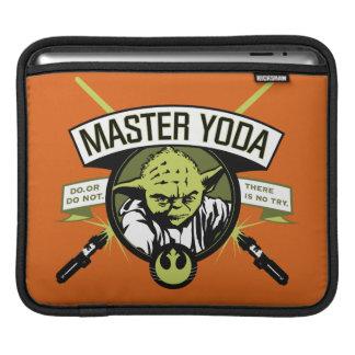 Yoda principal mangas de iPad