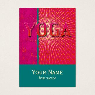 Yoga 1 - Negocio, tarjeta del horario