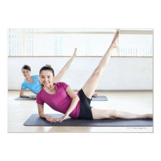 Yoga 8 invitación 12,7 x 17,8 cm