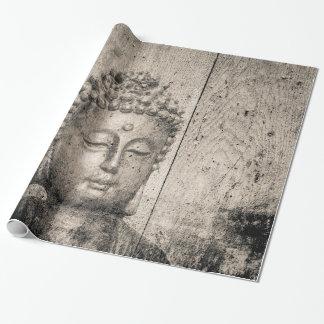 Yoga de Buda del vintage Papel De Regalo