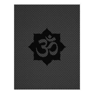 Yoga de la espiritualidad de Lotus del símbolo de Folleto 21,6 X 28 Cm