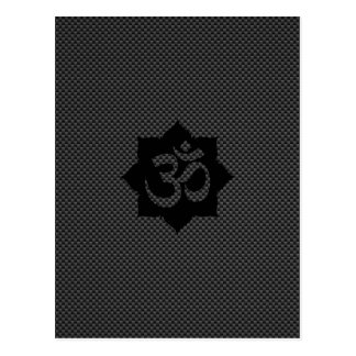 Yoga de la espiritualidad de Lotus del símbolo de Postal