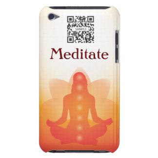 yoga de la plantilla del caso del tacto de iPod iPod Case-Mate Funda