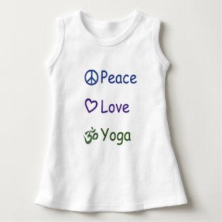 Yoga del amor de la paz vestido