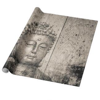 Yoga del Buddhism de Buda del vintage Papel De Regalo