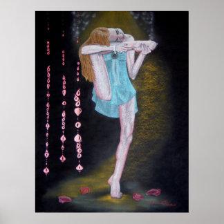 """""""Yoga del en MI de Absorta """" Poster"""