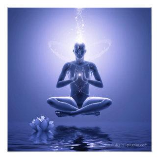 Yoga del poder - serie de la yoga impresión fotográfica