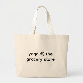 Yoga en el colmado bolsa tela grande