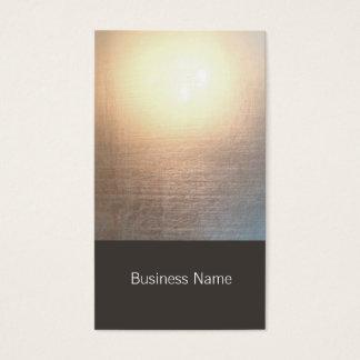 Yoga moderna del resplandor del zen y artes tarjeta de negocios