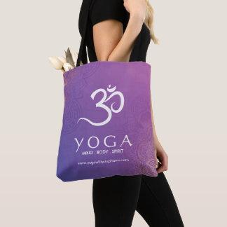 Yoga que califica el bolso reutilizable