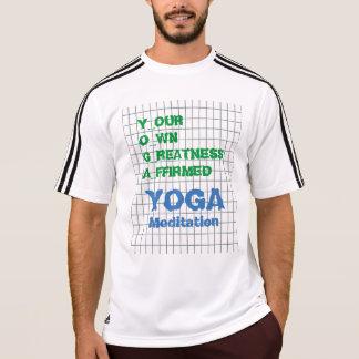 YOGA su propio texto afirmado grandeza de la Camiseta
