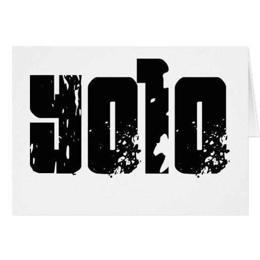 Yolo -- Camiseta Tarjeta De Felicitación