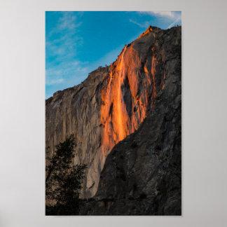 Yosemite Firefall Póster