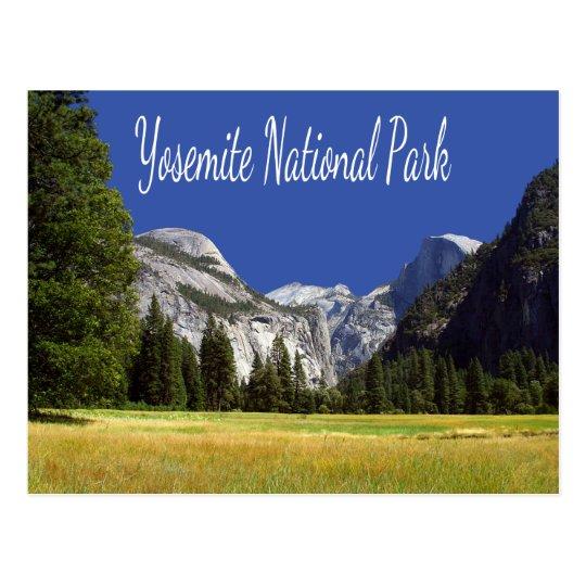 Yosemite, postal del Mt Hoffmann California del