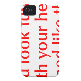 you-look-funny-opt-red png Case-Mate iPhone 4 protectores