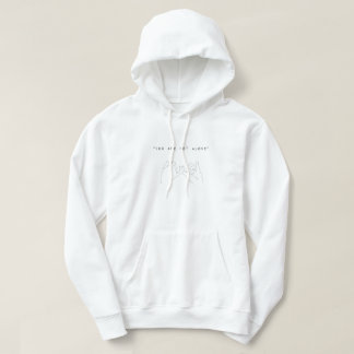 You´re not alone (hands) sudadera