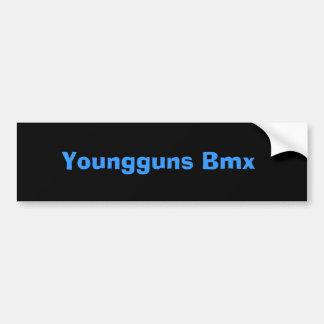 Youngguns Bmx Pegatina Para Coche