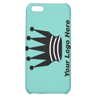 Your business brand logo custom blue i iPhone 5C covers