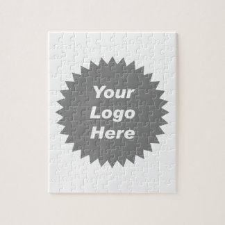 Your business logo here promo jigsaw puzzles