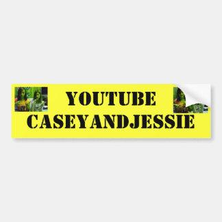 Youtubecaseyandjessie Pegatina De Parachoque