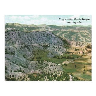 Yugoslavia, campo del negro de Monte Postal