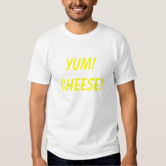 ¡Yum! ¡Queso! Camisas