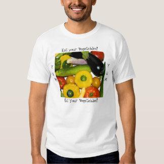 ¡Yum Yum coma sus verduras! Camisas