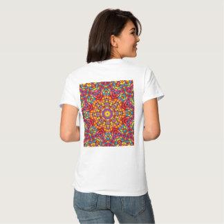 Yum Yum ropa para mujer colorida deliciosa muchos Camisetas