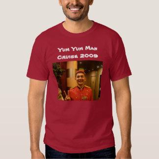 Yum Yum travesía 2009 del hombre Camisetas