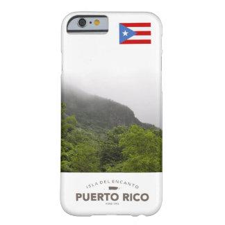 Yunque, bandera de Puerto Rico Funda Para iPhone 6 Barely There