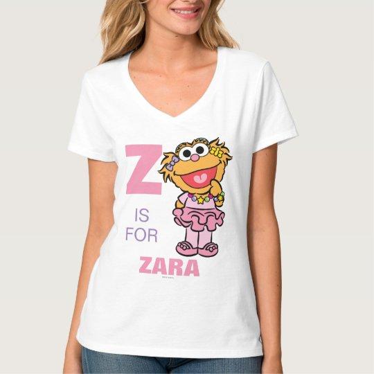 Z está para Zoe que los | añaden su nombre Body Para Bebé