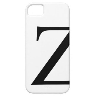 Z inicial iPhone 5 protectores