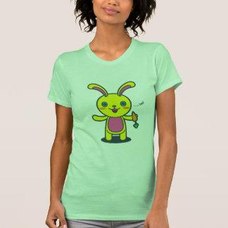Zanahoria linda del dulce del conejo de conejito camisetas