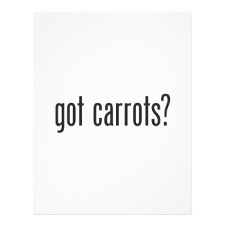 zanahorias conseguidas flyer personalizado