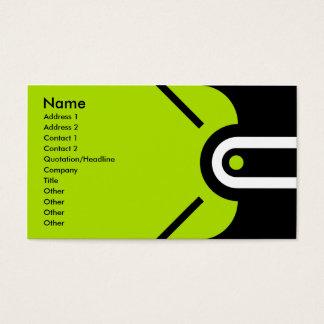 Zander - verde tarjeta de negocios