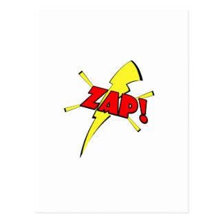 Zap, sfx del dibujo animado postal