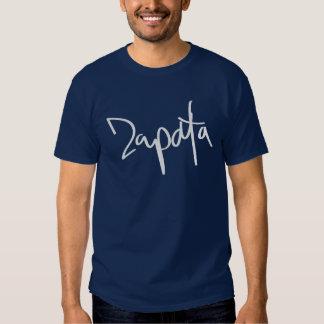 Zapata escrito camiseta