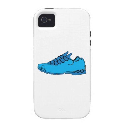 Zapatillas de deporte azules Case-Mate iPhone 4 fundas