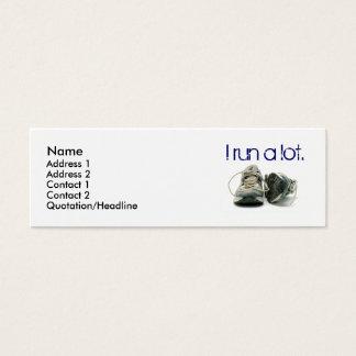 zapatillas de deporte, nombre, dirección 1, tarjeta de visita mini