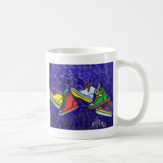 Zapatillas de deporte taza de café