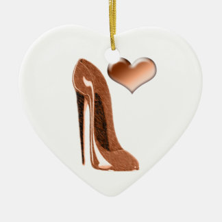 Zapato del estilete del caramelo y ornamento del ornamento de navidad