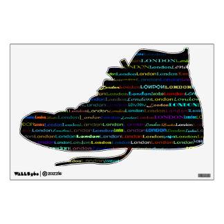 Zapato tenis del Hola-Top de la etiqueta de la par