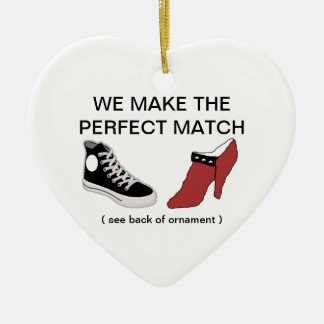 Zapato usted me casará ornamento ornamento para arbol de navidad
