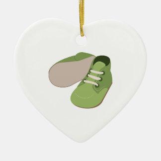 Zapatos de bebé adornos de navidad